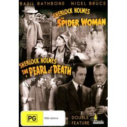 Sherlock Holmes And The Spider Woman / Sherlock Holmes And The Pearl Of Death on DVD.