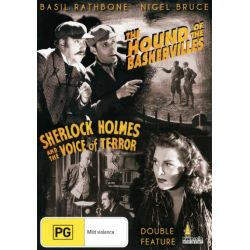Sherlock Holmes and the Hound of the Baskervilles / Sherlock Holmes and the Voice of Terror on DVD.