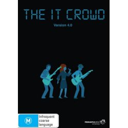 The IT Crowd Series 4 on DVD.