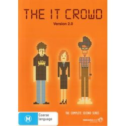 The IT Crowd on DVD.