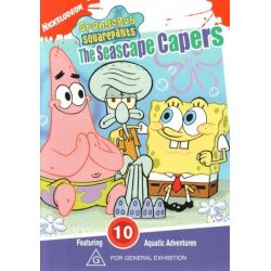SpongeBob SquarePants on DVD.