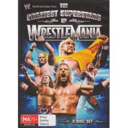 The Greatest Superstars of WrestleMania on DVD.