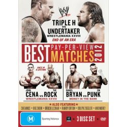 The Best Pay-Per-View Matches of 2012 on DVD.