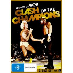 The Best of the WCW Clash of the Champions on DVD.