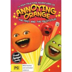 The High Fructose Adventures of Annoying Orange on DVD.
