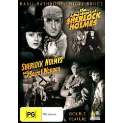 The Adventures Of Sherlock Holmes / Sherlock Holmes And The Secret Weapon on DVD.