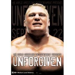 WWE Unforgiven on DVD.