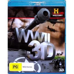 WWII in 3D on DVD.