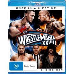 Wrestlemania XXVIII on DVD.