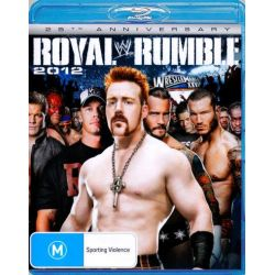 WWE Royal Rumble 2012 on DVD.