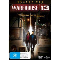 Warehouse 13 on DVD.