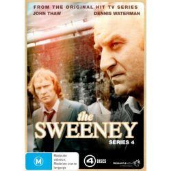 The Sweeney on DVD.