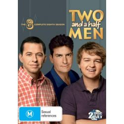 Two and a Half Men on DVD.