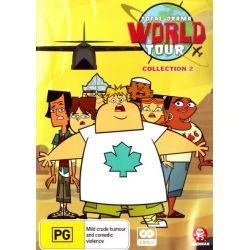 Total Drama World Tour on DVD.