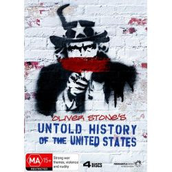 The Untold History of the United States on DVD.