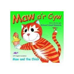 Maw A'r Cyw/Maw and the Chick - Richard Llwyd Edwards - Bok (9781847714503)