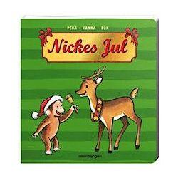Nickes jul : peka-känna-bok - H A Rey - Bok (9789129678994)