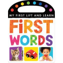 My First Lift and Learn: First Words - Little Tiger Press - Bok (9781848956230)