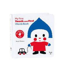 My First Touch and Feel Words Book - Bok (9782848019802)