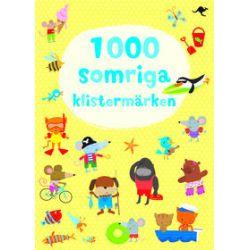 1000 somriga klistermärken - Fiona Watt - Bok (9789187503313)
