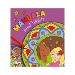 Mandala med hästar - Bok (9789173971348)