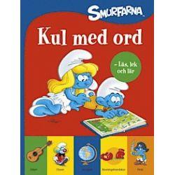 Smurfarna : kul med ord - läs, lek och lär - Peyo - Bok (9789155261030)