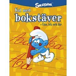 Smurfarna : kul med bokstäver - läs, lek och lär - Peyo - Bok (9789155259310)