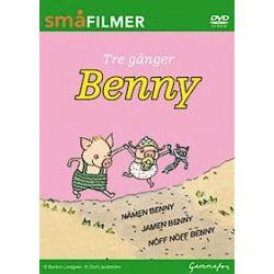 Tre gånger Benny : nämen Benny, jamen Benny, nöff nöff sa Benny - Barbro Lindgren - Bok (9789172259287)