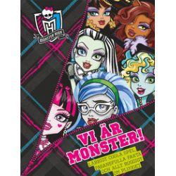 Monster High. Vi är monster! - Bok (9789187753213)