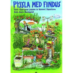 Pyssla Med Findus - Eva-Lena Larsson, Kennert Danielsson - Bok (9789172708518)