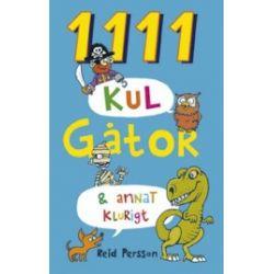 1111 kul gåtor & annat klurigt - Reid Persson - Bok (9789155257538)