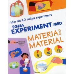 Egna experiment med materia och material - Peter Mellett - Bok (9789172331228)