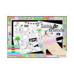 Luna & Friends - Malin Steding - Bok (9789198212716)