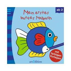 Bücher: Mein erstes buntes Malbuch. Fisch
