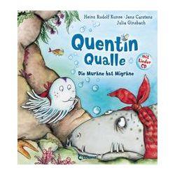 Bücher: Quentin Qualle - Die Muräne hat Migräne  von Jens Carstens,Heinz Rudolf Kunze