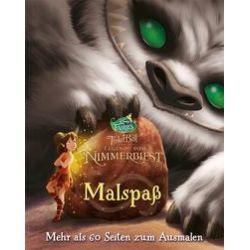 Bücher: Disney Tinkerbell und die Legende vom Nimmerbiest (Malbuch)