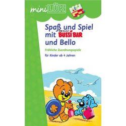 Bücher: miniLÜK. Spaß und Spiel mit Bussi Bär und Bello