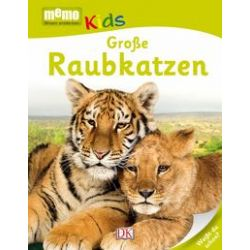 Bücher: Memo Kids. Große Raubkatzen
