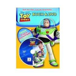 Bücher: Toy Story 1 Buch und DVD  von Walt Disney