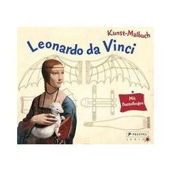 Bücher: Kunst-Malbuch Leonardo da Vinci  von Inge Sauer