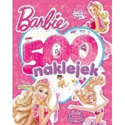 Barbie 500 naklejek -