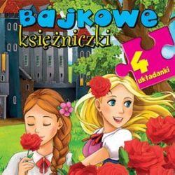 Bajkowe księżniczki. 4 układanki - Anna Wiśniewska,