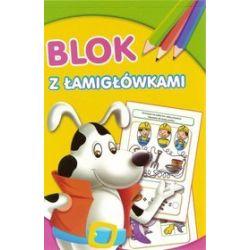 Blok z Łamigłówkami - Pies