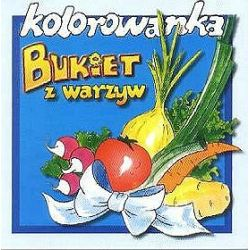 Bukiet warzyw - kolorowanka (3-9 lat)