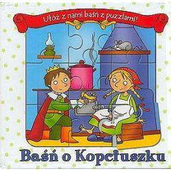 Baśń o Kopciuszku - książeczka puzzle