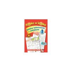Biblijne kolorowanki z naklejkami cz.1