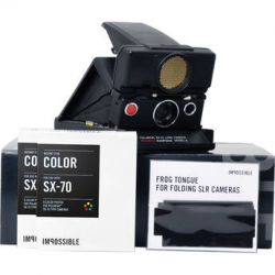 Impossible Refurbished Polaroid SONAR OneStep SX-70 Land 2851