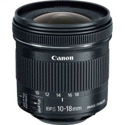 Canon EF-S 10-18mm f/4.5-5.6 IS STM Lens 9519B002 B&H Photo