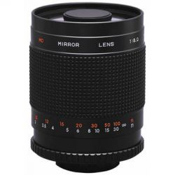 Rokinon  500mm f/8.0 Mirror T-Mount Lens 500M B&H Photo Video