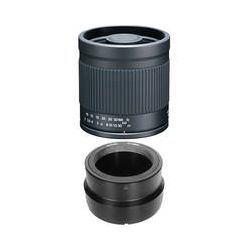 Kenko 400mm f/8.0 Mirror Lens with T-Mount SLR Camera Adapter